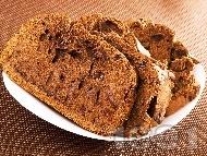 Какаов кекс със стафиди